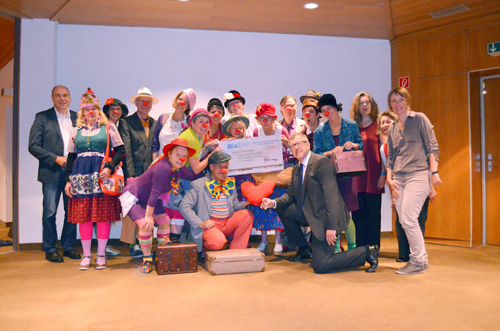 Clowns in Altenheimen 2014